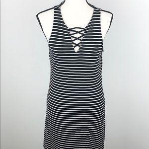 Aeropostale striped tank summer dress